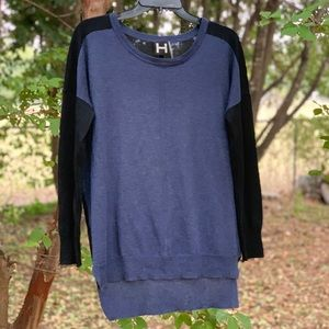 H by Bordeaux multi colored sweater